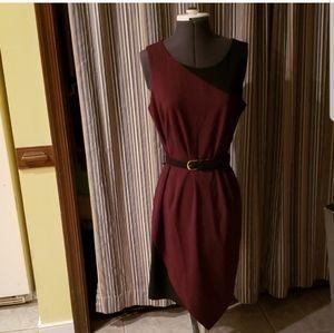 New York & Company Color Block Dress